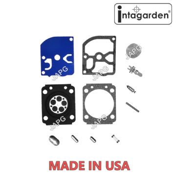 Carburettor Carb Repair Kit, Replace Zama RB-89, RB89, Diaphragm, Gasket, Needle, Lever, Spring, Pin